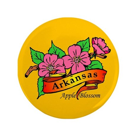 "Arkansas Pride! 3.5"" Button"