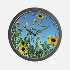 Taketomi Sunflowers Wall Clock