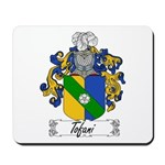 Tofani Family Crest Mousepad