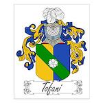 Tofani Family Crest Small Poster