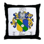 Tofani Family Crest Throw Pillow