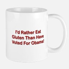 I'd Rather Eat Gluten Mug