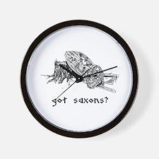 Funny Sca Wall Clock