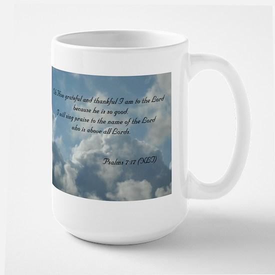 Psalms 7 Large Mug