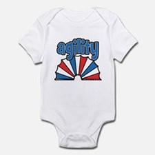 Agility Tunnel Logo Infant Bodysuit
