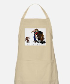 Cutting Horse Meeting Cow BBQ Apron
