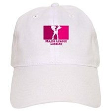 Major League Lesbian Baseball Cap