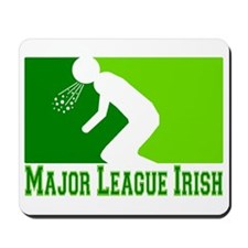 Major League Irish Mousepad