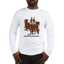 Cutting Horses and Cows Long Sleeve T-Shirt