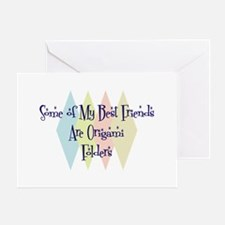 Origami Folders Friends Greeting Card