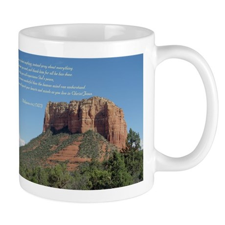 Phillipians 4:6,7 Mug
