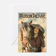 Mabel Normand Greeting Card
