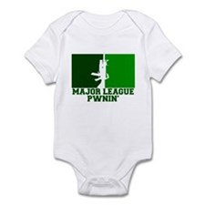 Major League Pwnin' Infant Bodysuit