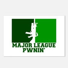 Major League Pwnin' Postcards (Package of 8)