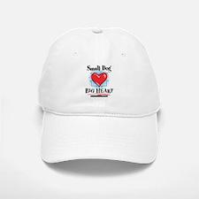 Small Dog Big Heart Baseball Baseball Cap
