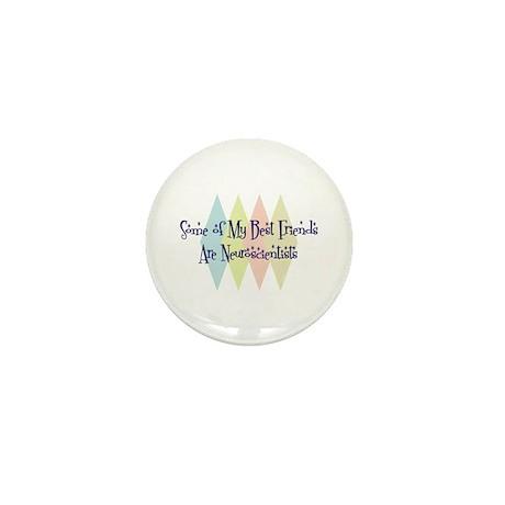 Neuroscientists Friends Mini Button