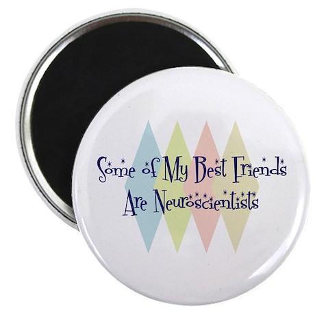 "Neuroscientists Friends 2.25"" Magnet (100 pack)"