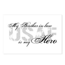 Brother-in-law is My Hero USAF Postcards (Package