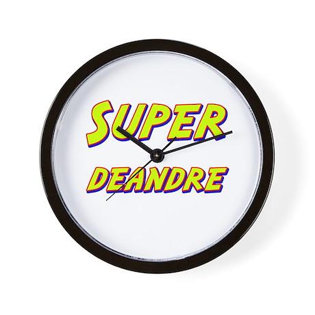 Super deandre Wall Clock