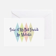 Midwifes Friends Greeting Card