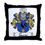 Tomasini Family Crest Throw Pillow