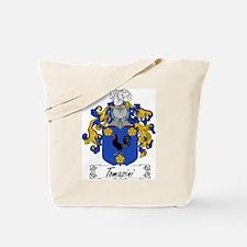 Tomasini Family Crest Tote Bag