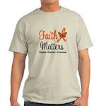Leukemia: Faith Matters Light T-Shirt