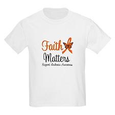 Leukemia: Faith Matters T-Shirt