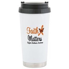 Leukemia: Faith Matters Travel Mug