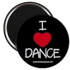 I HEART DANCE Magnet