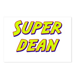 Super dean Postcards (Package of 8)
