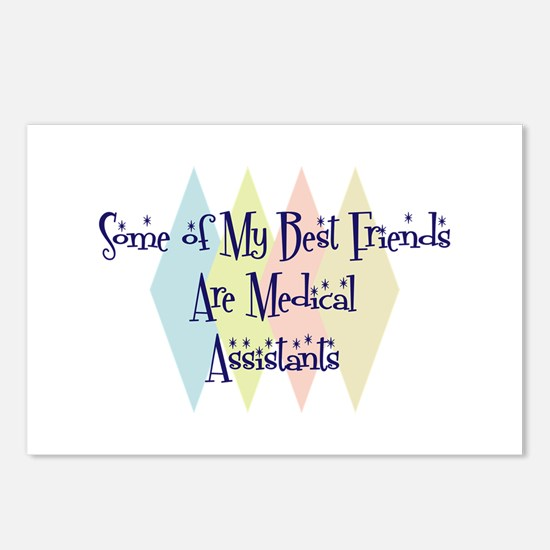 Medical Assistants Friends Postcards (Package of 8