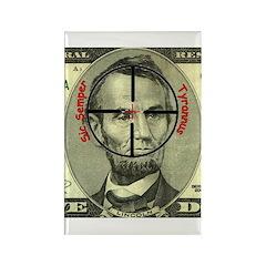 Sic Semper Tyrannus on Rectangle Magnet (10 pack)