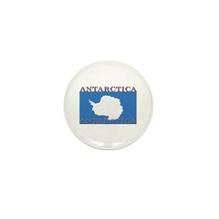Antarctica Flag Mini Button (100 pack)