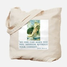 Empowering Eleanor Roosevelt quote Tote Bag
