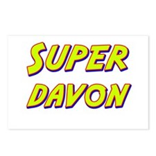 Super davon Postcards (Package of 8)