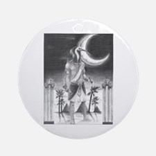 Thoth Ornament (Round)