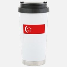 Singapore Flag Travel Mug