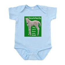 Fjord Horse Chip Design Infant Creeper