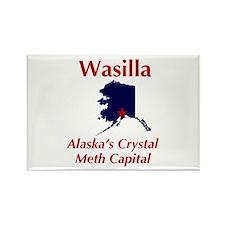 Wasilla Meth Capital Rectangle Magnet