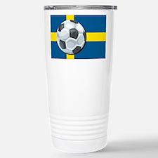 Swedish Soccer Travel Mug
