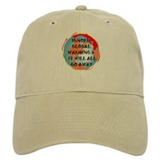 GLOBAL WARMING WARNING Baseball Cap