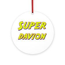 Super davion Ornament (Round)