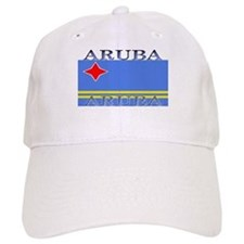 Aruba Aruban Flag Baseball Cap