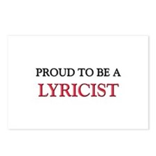 Proud to be a Lyricist Postcards (Package of 8)