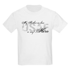 Father-in-law is my Hero USAF T-Shirt