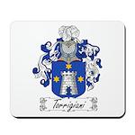 Torrigiani Family Crest Mousepad