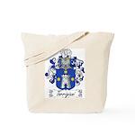 Torrigiani Family Crest Tote Bag