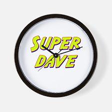 Super dave Wall Clock