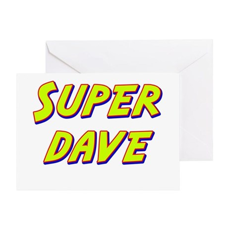 Super dave Greeting Card